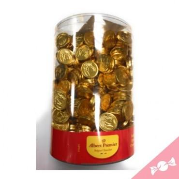 Pièces en Euros de chocolat...