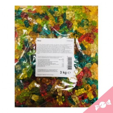 ASTRA TEDDY OURSONS LISSE  3KG