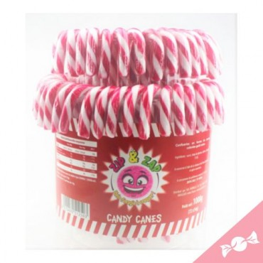 Tubo 72 Candy canes rouge...