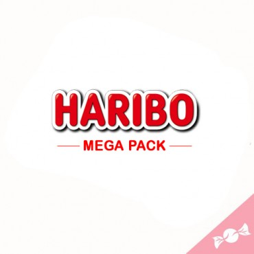 MEGA PACK HARIBO  6 sachets...