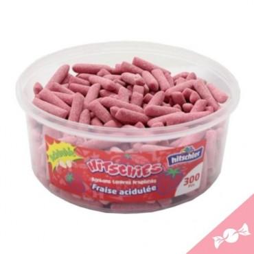 Hitschies fraise Acidulée De 300 Pcs