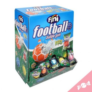 Bonbons acides/BUBBLE GUM FOOTBALL FIZZ 200 pcs-FINI