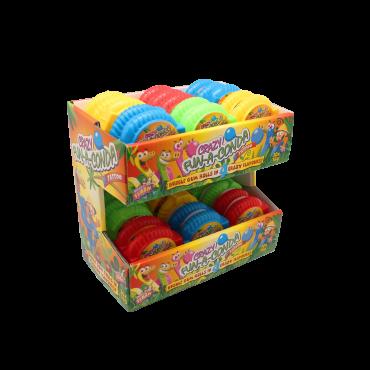 Gomme à mâcher/BUBBLE GUM ACIDES/roller 16gr x 30
