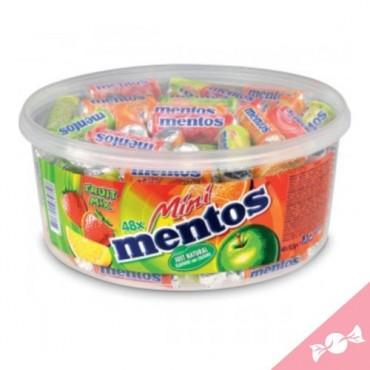 Mentos mini fruits - tubo...