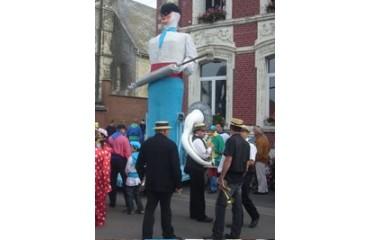 Le carnaval des Seringueux à Solesmes